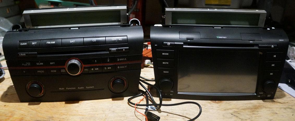 Eonon Gm5151 20042005 Mazda 3rhtorontomazda3ca: Mazda 3 Radio Blank At Gmaili.net